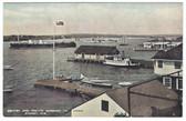 Sydney, Cape Breton, Nova Scotia, Canada Postcard:  Warships in Harbor