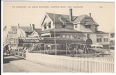 Hampton Beach, New Hampshire Postcard:  The Grandview Restaurant