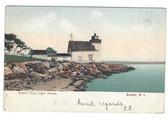 Bristol, Rhode Island Postcard: Bristol Ferry Lighthouse
