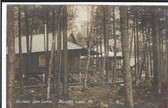 Belgrade Lakes, Maine Real Photo Postcard:  Belgrade Lake Camps