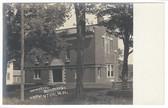 Hopkinton, New Hampshire Real Photo Postcard:  Memorial Building