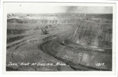 Virginia, Minnesota Real Photo Postcard:  Iron Mine
