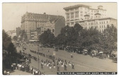 Washington, D. C. Real Photo Postcard:  1911 M. O. V. P. E. R. Parade