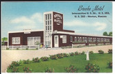 Norton, Kansas Postcard:  Brooks Motel
