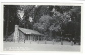 Boulder Creek, California Real Photo Postcard: Big Trees Inn Restaurant