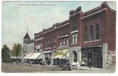 Smith Center, Kansas Postcard:  Opera House Block
