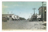 Edgar, Nebraska Postcard:  Main Street