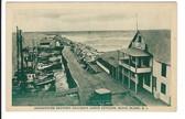 Block Island, Rhode Island Postcard:  Breakwater  & Restaurant