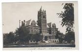 Newton, Kansas Real Photo Postcard:  Court House