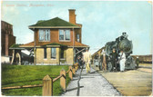 Montpelier, Ohio Postcard:  Train Station