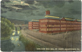 Allentown, Pennsylvania Postcard:  Adelaide Silk Mill By Night