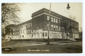 Aurora, Illinois Real Photo Postcard:  East High School
