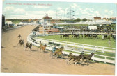 Brockton, Massachusetts Vintage Postcard: Harness Racing, Brockton Fair