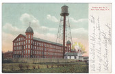 New York Mills, New York Postcard:  Cotton Mill No. 1