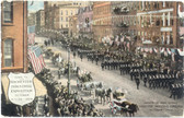 Rochester, New York Postcard:  1909 Rochester Industrial Exposition Parade
