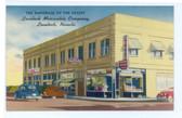 Lovelock, Nevada Postcard:  Lovelock Mercantile Company