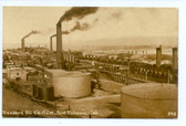Point Richmond, California Postcard:  Standard Oil Co. Plant