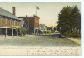 Epping, New Hampshire Postcard:  Main Street