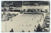 Kiamesha Lake, New York Postcard:  The Concord Sports Resort