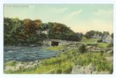 Cape Neddick, Maine Postcard:  Cape Neddick Bridge