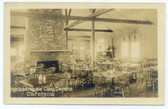 Ayer, Massachusetts Postcard:  Fort Devens Hostess House Cafeteria