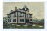 Meriden, Connecticut Postcard:  Columbia Street School