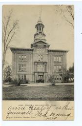Wallingford, Connecticut Postcard:  High School