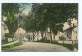 Gilmanton Iron Works, New Hampshire Postcard:  Elm Street
