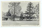 Sherburne, New York Postcard:  The Tourist Inn & Gas Station