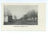 Andover, New Hampshire Postcard:  Main Street