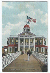 New Orleans, Louisiana Postcard:  Southern Yacht Club - West End