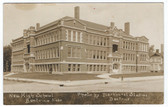 "Beatrice, Nebraska Real Photo Postcard:  ""New"" High School"