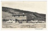 Dillon, Colorado Real Photo Postcard:  Moon Valley Lodge & Cafe