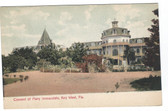 Key West, Florida Postcard:  Convent of Mary Immaculate