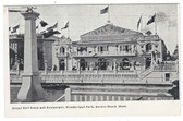 Revere Beach, Massachusetts Postcard:  Grand Ball Room and Restaurant, Wonderland Park