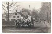 Claremont, New Hampshire Real Photo Postcard: 1914 150th Anniversary Parade