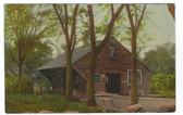 Gilmanton Iron Works, New Hampshire Postcard:  Old Blacksmith Shop