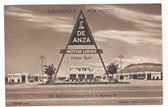 Albuquerque, New Mexico Postcard:  De Anza Motor Lodge Route 66