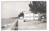 Clearwater, Florida Real Photo Postcard:  Seashell Hotel & Clearwater Trailer Park
