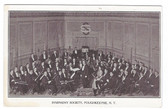 Poughkeepsie, New York Postcard:  Symphony Society