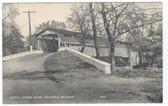 Granogue, Delaware Postcard:  Smith's Covered Bridge