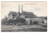 Donaldsonville, Louisiana Postcard:  Ice Factory