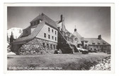 Government Camp, Oregon Real Photo Postcard:  Timberline Lodge