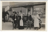 Newlife, Wisconsin Real Photo Postcard:  General Store & Post Office