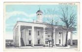 Homer, Louisiana Postcard:  Court House