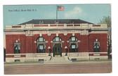 Rock Hill, South Carolina Postcard:  Post Office