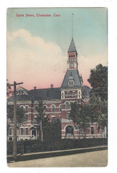 Thomaston, Connecticut Postcard:  Opera House