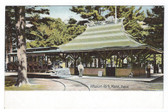 Fitchburg, Massachusetts Postcard:  Whalom Park Trolley Station