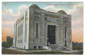 Boston, Massachusetts Postcard:  Temple Israel Synagogue