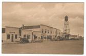 Wall, South Dakota Postcard:  Main Street & Post Office